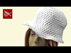 Crochet Cloche Hat Part 1 - How To - Crochet Geek - YouTube