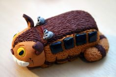 polymer clay totoro - Google Search