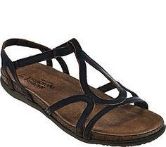 c29cdf76ba2 Naot Leather Multi-strap Sandals - Dorith Strap Sandals
