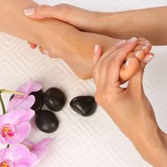Buy a Pedicure Get a 15 Minute Foot Massage for FREE for $28 at PowderBlu Salon in Delray Beach