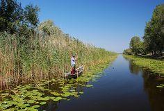 fishing in Danube Delta.