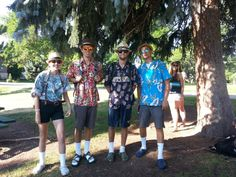 Our Colorado Academy Summer Programs staff during 80's Week and Twin Day. http://www.coloradoacademysummer.org/