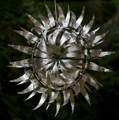 "Anthony Howe Sculpture ""Vlast-O-Spline"""