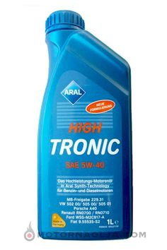Motorno olje Aral High Tronic New 5W-40