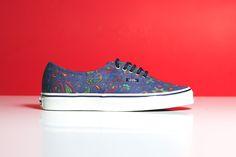 "Vans Authentic ""Blue Paisley"" - EU Kicks: Sneaker Magazine"