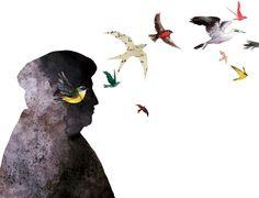 Ilustración de Adolfo Serra para La piel extensa, antología poética de Pablo Neruda.  Edelvives publica esta selección de 55 poemas dentro de la colección Adarga.