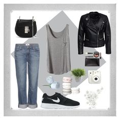 """Untitled #43"" by liel2900 ❤ liked on Polyvore featuring Polaroid, Paige Denim, Sisters Point, NIKE, Bobbi Brown Cosmetics, Chloé and Ethan Allen"