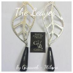 Orecchini the leaves argento