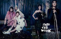 INTO THE WOODS 眠る魔法の森へ。