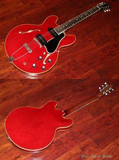 1961 Gibson ES-330, Cherry Red http://www.garysguitars.com/c…/1961-gibson-es-330-cherry-red