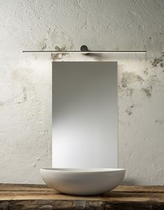 LED wall lamp for bathroom SLIGHT | Wall lamp by Olev