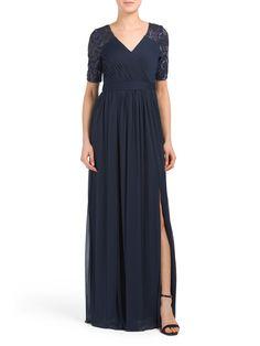 b5d1c776bb1 Stretch Sequin Gown - Formal - T.J.Maxx