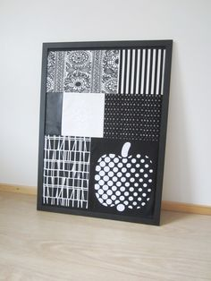 Tee-se-itse-naisen sisustusblogi: Framed Patchwork