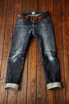 Edwin ED49 Rainbow selvage jeans worn in by Nils Johanssen ⓀⒾⓃⒼⓈⓉⓊⒹⒾⓄⓌⓄⓇⓀⓈ