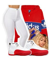 """"""""""" by leshabest ❤ liked on Polyvore featuring adidas Originals"""