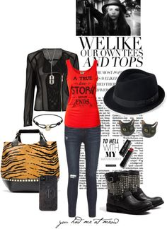 """""""NOT the """"ladies who lunch""""!!"""" by stacy-morgan ❤ liked on Polyvore"""