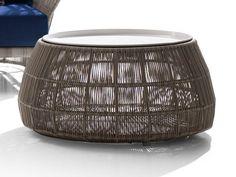 Round Polyethylene Garden Side Table Canasta U002713 Collection ...