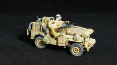 1/35 scale Tamiya kit, SAS Jeep