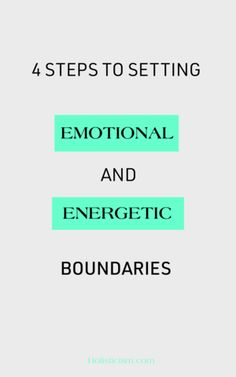 Energetic and Emotional Boundaries It's a paradox — creating makes you more attractive. But boundaries have a negative connotation. They're not there to keep people out. Rather, boundaries exist as a form of honoring the sacred within ourselves. Emotional Healing, Self Healing, Spiritual Growth, Spiritual Awareness, Spiritual Life, Emily Anderson, Mental Health Resources, Codependency, Spiritual Awakening