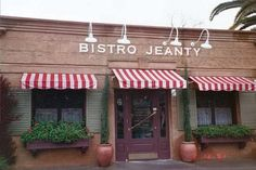Bistro Jeanty, Yountville. Simple French bistro. The food's great, but I fondly remember this place for the lovely couple, each no younger than 80, leaving the restaurant hand-in-hand.