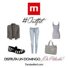 ¿Vas al cine? Te proponemos este relajado pero glamoroso outfit para que vayas a ver una película y luzcas hermosa.   #TiendasMarli #MarliAdicta #Cine #Domingo #Moda #Estilo #Trendy #In #Style #Fashion #Mérida #Maracaibo #Falcón #Táchira #Trujillo
