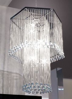 """Signature Collection: Special Order Design: Grand 31"""" Dia Beaded Crystal Chandelier * Pricing By Quotation"""