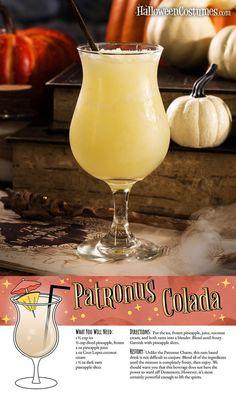 Diese Harry-Potter-Cocktail-Rezepte sind so viel besser als Butterbier - Cocktails Harry Potter Cocktails, Harry Potter Food, Harry Potter Wedding, Harry Potter Theme, Harry Potter Birthday, Harry Potter Recipes, Harry Potter Parties, Champagne Cocktail, Cocktail Drinks
