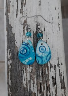 Polymer Clay Flowers, Polymer Clay Earrings, Wind Chimes, Jewelry Art, Outdoor Decor, Inspiration, Home Decor, Biblical Inspiration, Decoration Home