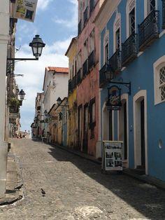From the street of Citade Alta Salvador