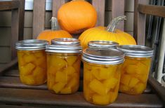 Canned Pumpkin Pickles – a Sweet Fall Treat Canned Pumpkin, Pumpkin Pumpkin, Fall Treats, Fall Pumpkins, Preserves, Family Meals, Pickles, Cantaloupe, Farmer