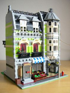 Wish Lego can market and sell this! I love the veggie stand!