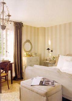 Coton et Bois. decoración e interiorismo. Dormitorio matrimonio