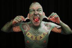 top_10_most_tattooed_people_in_the_world_Eric_Sprague-_the_Lizard_man.jpg (650×433)