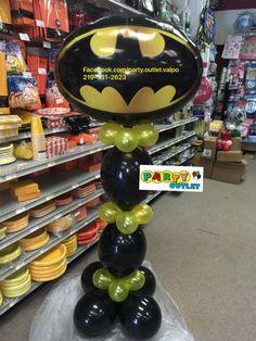 Batman balloon column