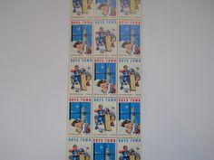 Father Flanagan's Boys Home. Boys Town, Nebraska  1964 Annual Seal Stamp
