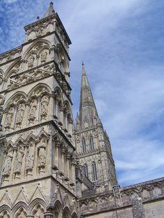 Salisbury ve městě Wiltshire, Wiltshire