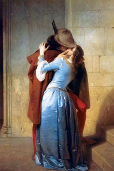 'El beso' de Francesco Hayez