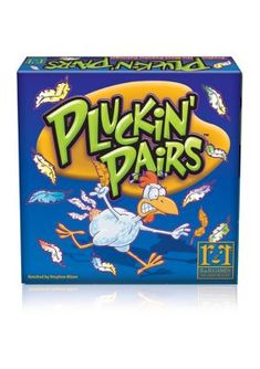 R&R Games Pluckin' Pairs Family Game. Everyone can pluck pairs. Easy! BUT do you pluck your pairs the same way everyone else plucks pairs? Predict the Most Popular Pairings! Do you really know what your friends are thinking? Test your powers of prediction as you try to pluck the most popular pairs! Each player has 90 seconds to make 5 pairs from the 11 random images on the table. Match other players' pairings to gain points. The more you match, the more you score! Great fun for families or y Most Popular Games, Big Party, Do You Really, Family Games, You Tried, Creative Kids, Gain, Families, Random
