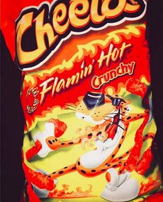 18 Things Anyone Who's Eaten Hot Cheetos Will Understand Hot Snacks, Night Snacks, Spicy Recipes, Easy Chicken Recipes, Spicy Cheetos, Cheetos Puffs, Homemade Churros Recipe, Orange Aesthetic, Food Cravings