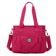 f1101883868  Visit to Buy  JINQIAOER Women Messenger Bag Ladies Crossbody Bags For Women  Waterproof handbags Nylon Large Shoulder Bags Style Bolsa Feminina