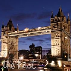 Honeymoons Travel: London Honeymoons from The Knot