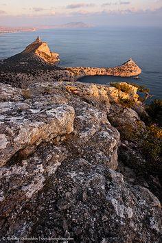 """Rocky coastline of """"Novyi Svet"""" recreation area by nickolay_khoroshkov, via Flickr"""