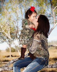 Camo family photography! Photo credit- captured moments by Letty Ramirez