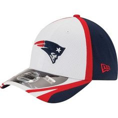 cd4fab80d6c New Era 2014 Training 39Thirty Flex-White Navy New England Patriots  Merchandise