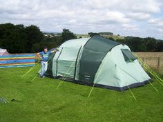 Our Huge tent