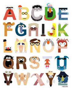 Muppet Alphabet, Mike Baboon