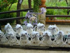 Compositions wedding favors made ​​by us. Contact us at: info@lemanisannomentana.it