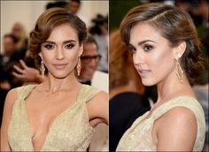 We have the 2014 Met Gala hair & makeup tutorials for Jessica Alba, Amber Heard, Marion Cotillard & Amanada Peet, from their celebrity hairstylists & makeup artists.