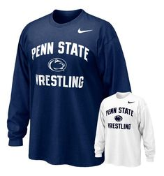 Penn State Wrestling Nike Adult Long Sleeve  The Family Clothesline - www.pennstateclothes.com