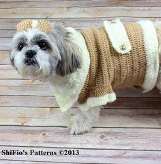Dog Coat Crochet Pattern #179